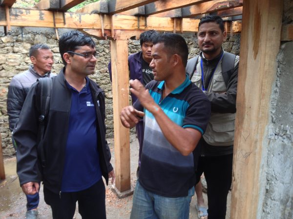 Bishnu Pandy, member of the civil engineering faculty in the B.C. Institute of Technology's School of Construction and the Environment, was team leader for a Canadian Association for Earthquake Engineering team which visited to Nepal to assess and make recommendations on how locals can improve earthquake safety of stone masonry homes.