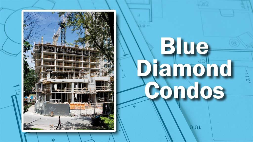 PHOTO: Blue Diamond Progress
