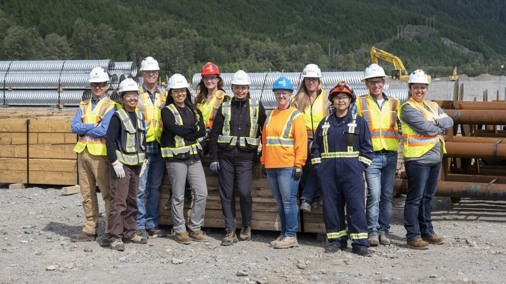 LNG Canada's Your Place program geared to attract women to the skilled trades