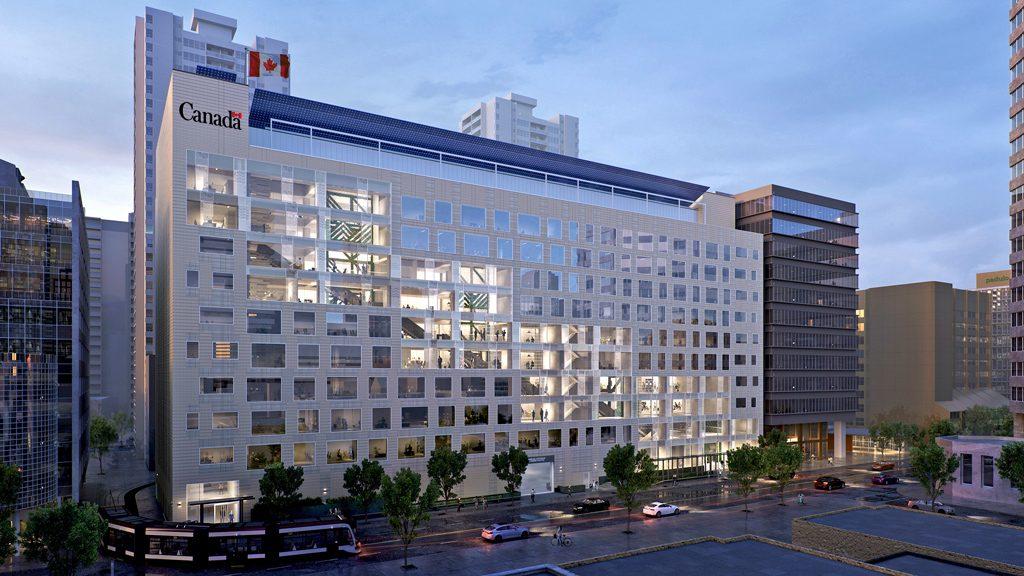 Arthur Meighen building undergoing major energy-efficiency renovation