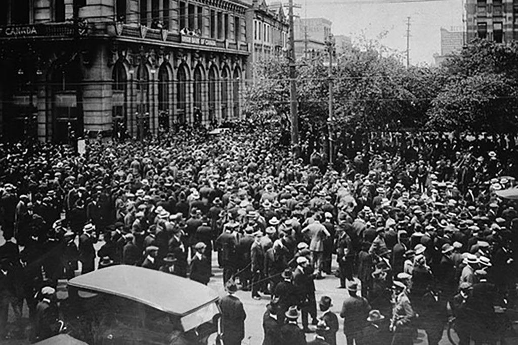 The Winnipeg General Strike: From construction walkout to gunfire in six weeks