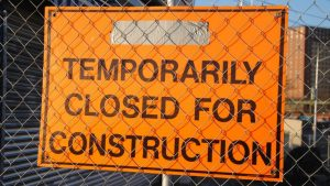 Gardiner off-ramp closes for extensive repair work