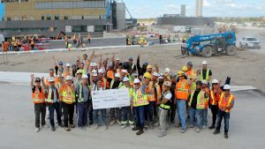 Carpenters' give $1M to new Vaughan hospital