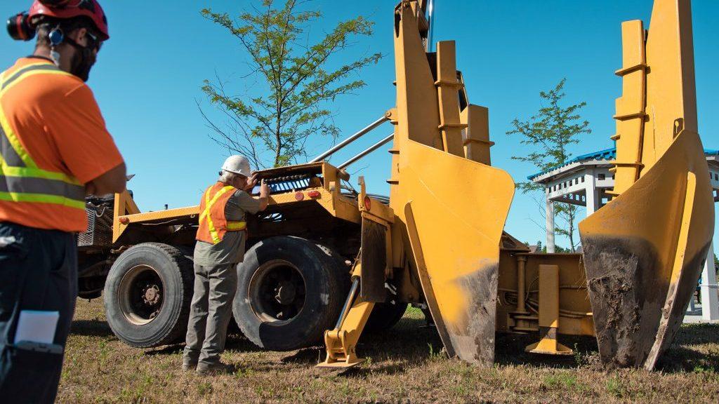 EllisDon transplants mature trees in Vaughan parks