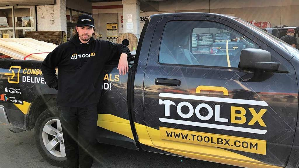 TOOLBX, the Uber Eats of construction apps for building material delivery