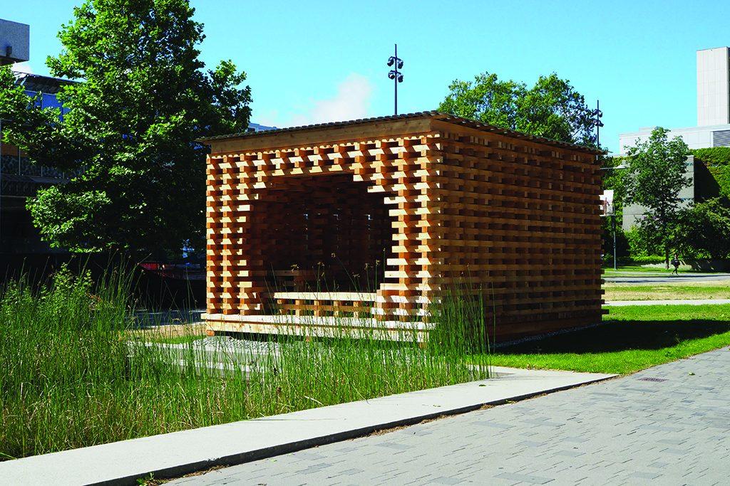 ARCHITECTURE SPOTLIGHT: UBC C-Shore pavilion explores material ecology to design connection