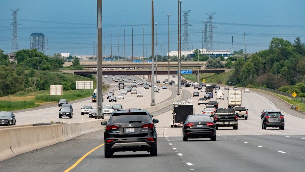 407 ETR opens added lanes in each direction