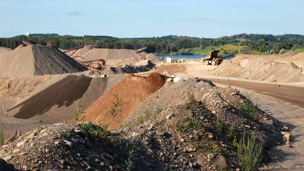 Aggregate supplier plans 300 years ahead