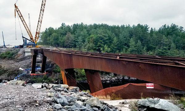 Steel Legs Key For Four New Ontario Girder Bridges