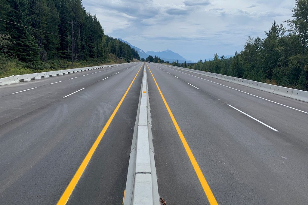 Highway 1 lane expansion project completed