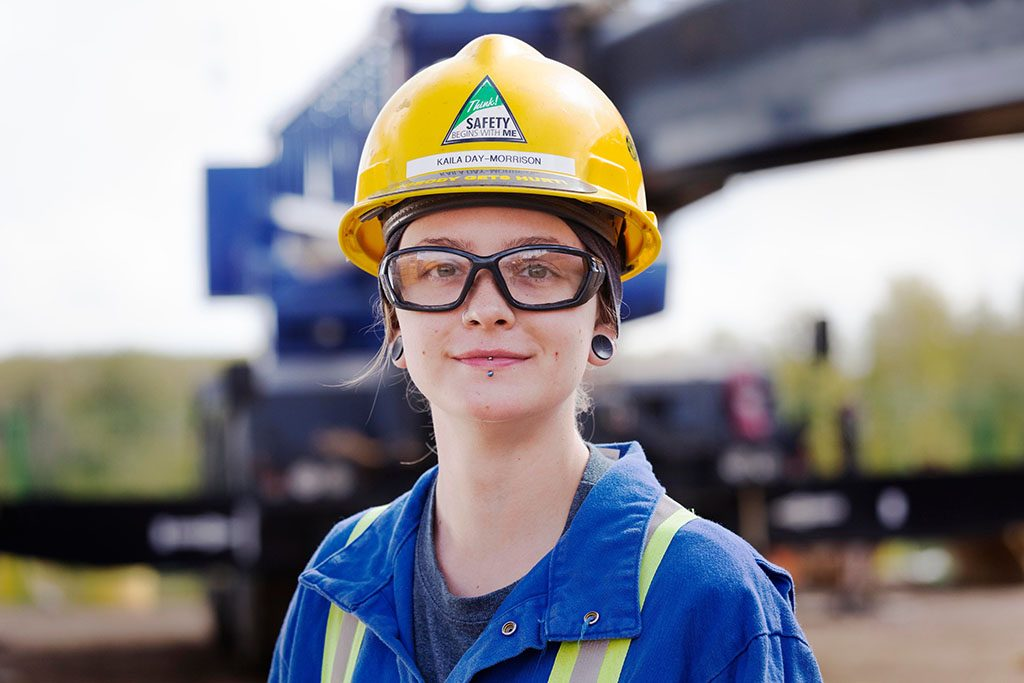 Inter Pipeline funds female trades training in Alberta