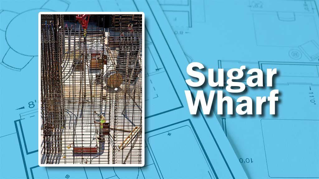 PHOTO: Sugar Wharf Hoist