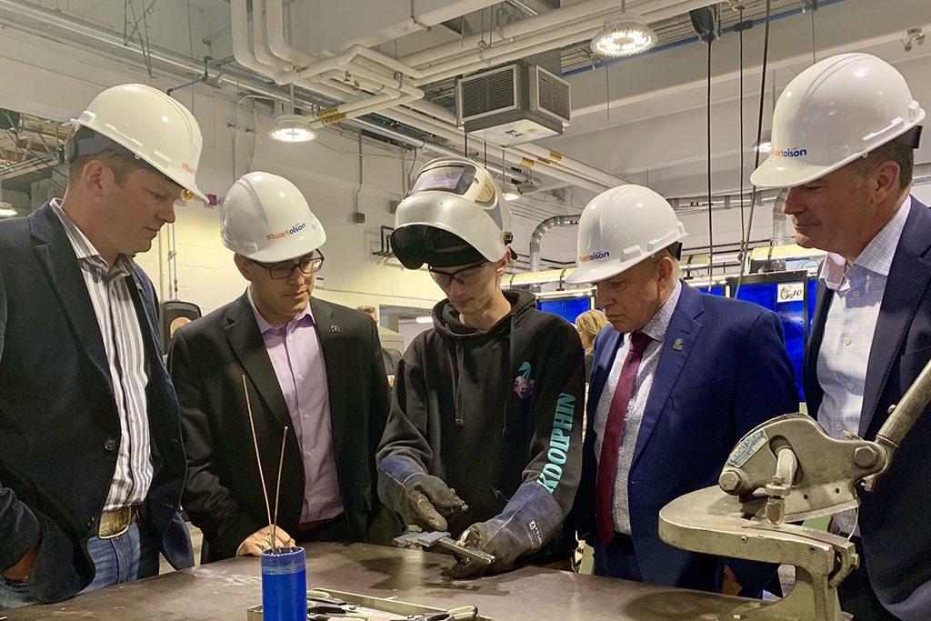 Alberta invests $1.5 million in apprenticeship training