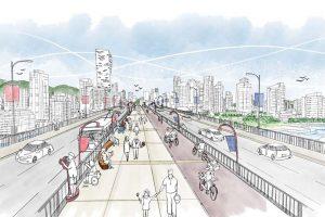 Vancouver unveils Granville Bridge redesigns