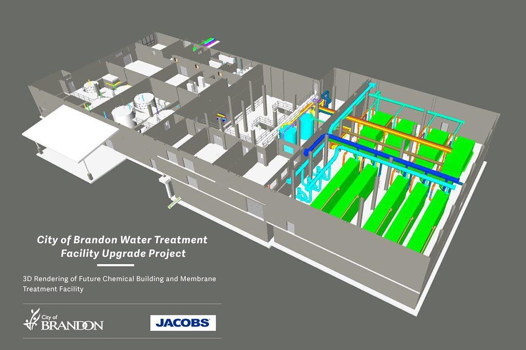 Work starts upgrading Brandon water treatment