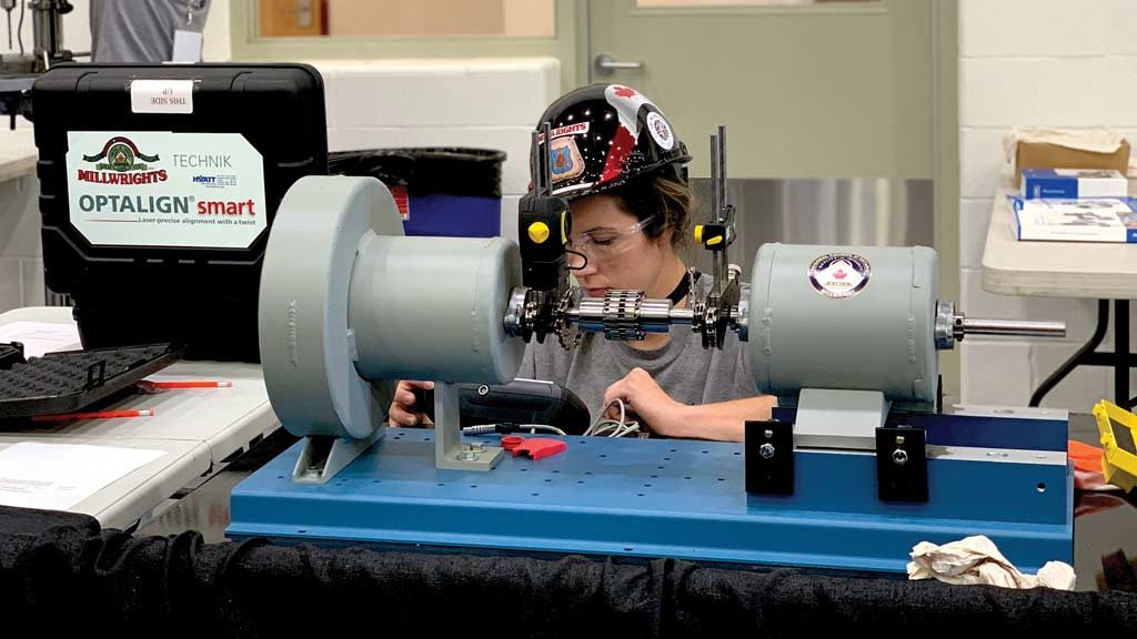 Female millwright praises parents for career support