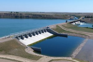 Bassano Dam upgrade completed
