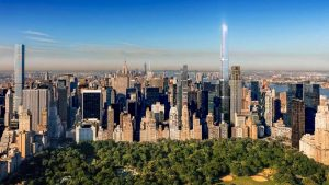 New York's Central Park Tower world's tallest residential building at 1,550 feet