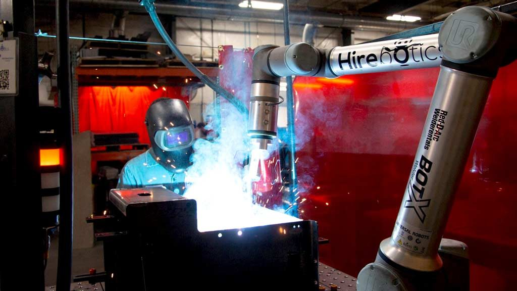 Robots for hire, robots to fire: Hirebotics brings human-scale hiring to welding bots