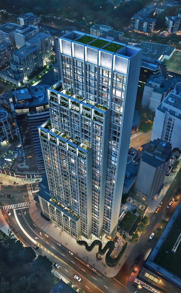 Lanterra's 41-storey 50 Scollard project in Toronto will feature 77 units averaging 2500 to 3,000 square feet in size.