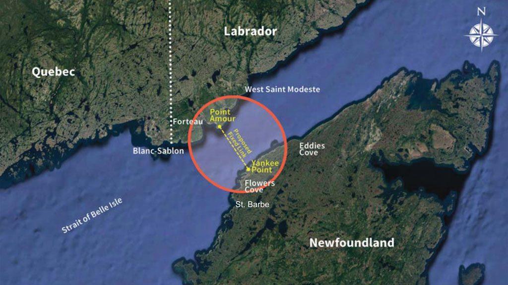 Newfoundland to Labrador fixed link has new legs
