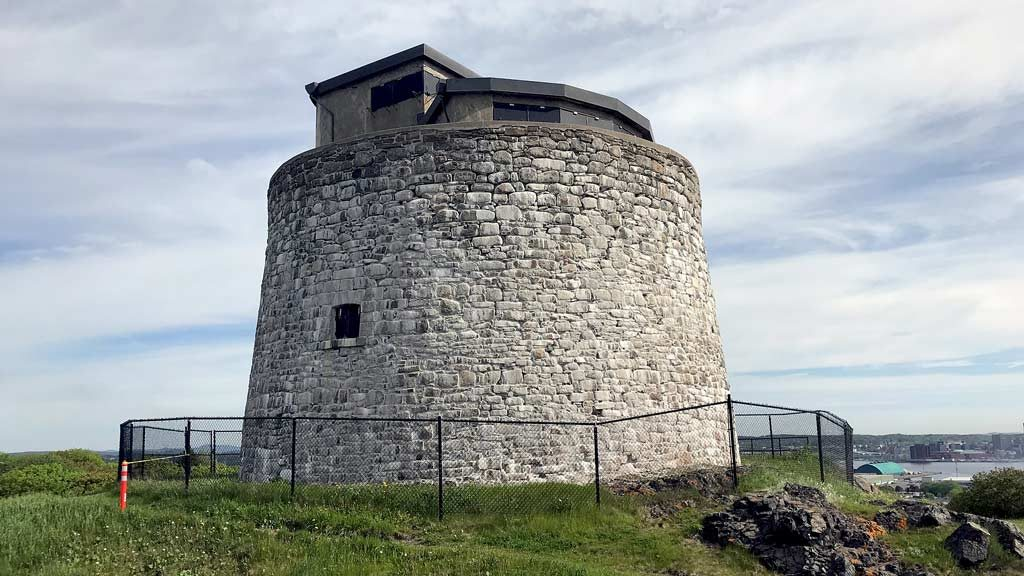 Atwill-Morin to restore military tower in N.B