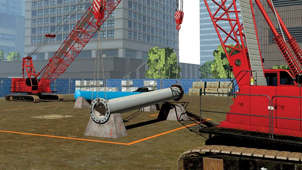 Simulator helps develop crane tandem lift skills