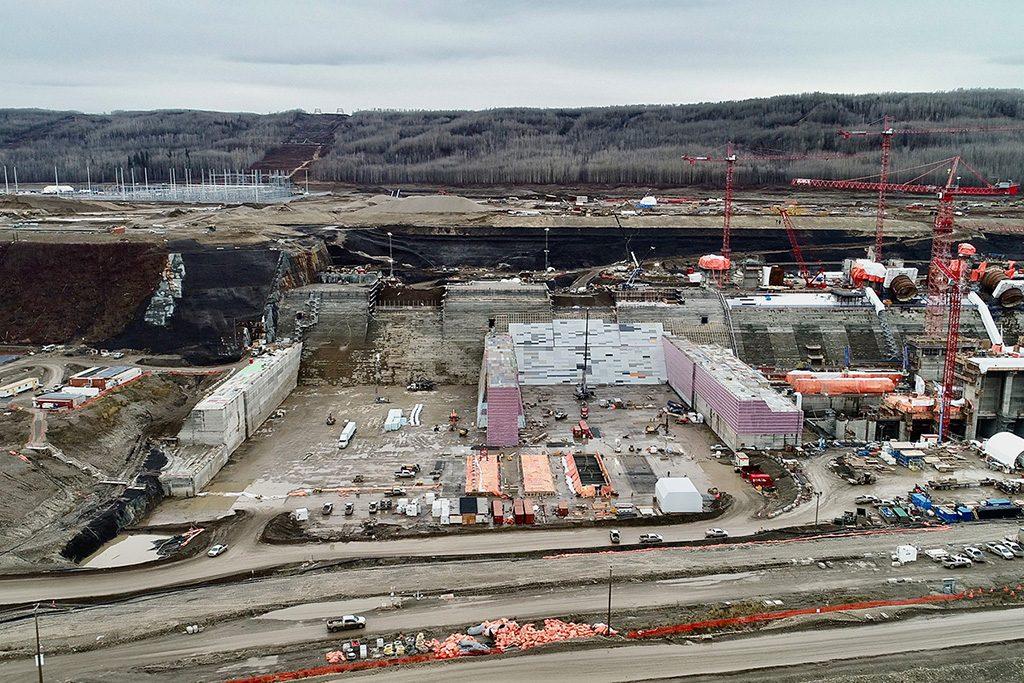 Site C project hits concrete milestone ahead of schedule