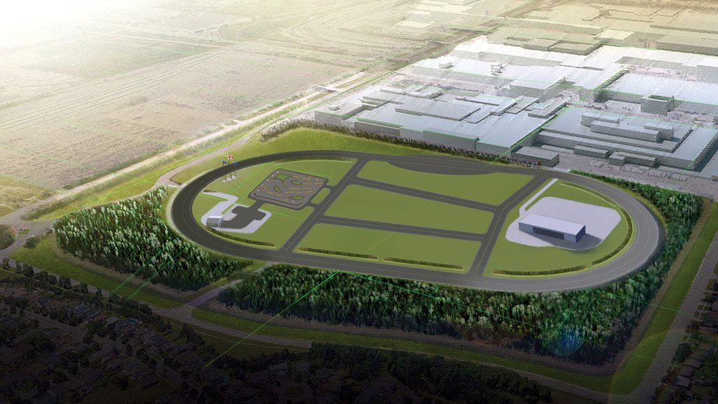 Work begins on GM's new autonomous and EV test track