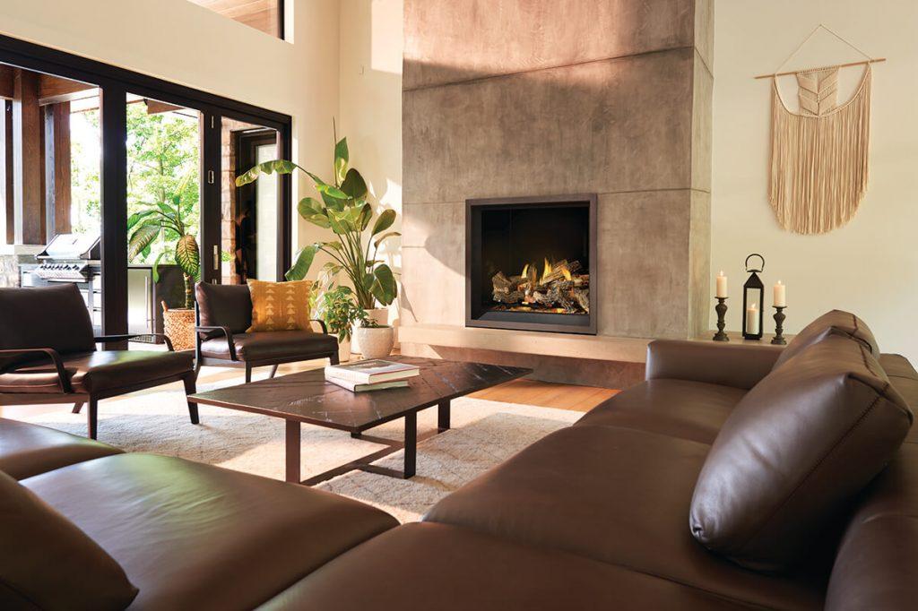 Napoleon offering premium authentic fireplace experience