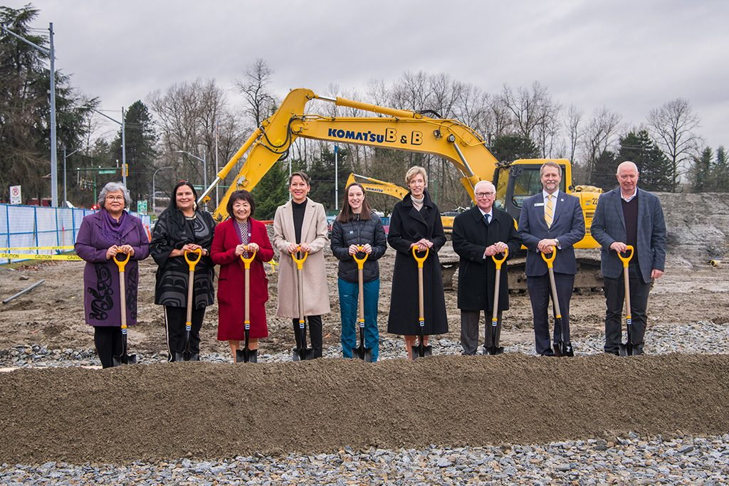 BCIT Health Sciences Centre breaks ground in Burnaby