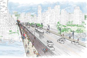Vancouver recommends Granville Bridge improvement design
