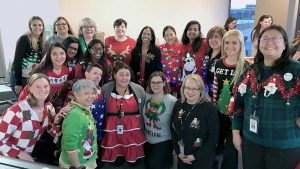 Aecon Women band together to support Shoebox Project