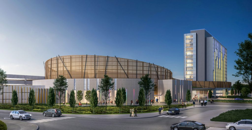 Pickering casino construction close to completion