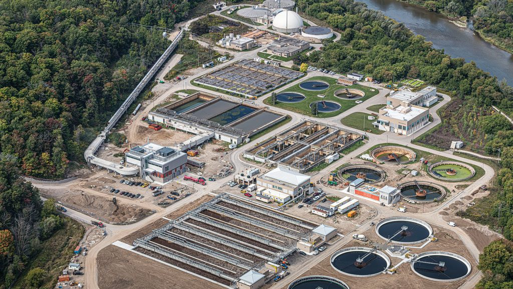 $350-million upgrade of Kitchener wastewater treatment plant nears end