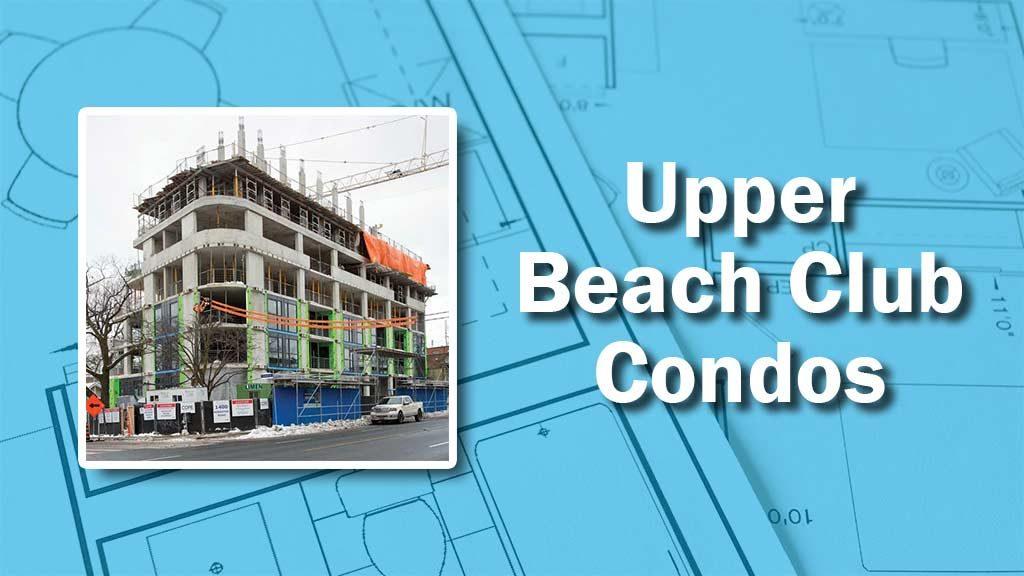 PHOTO: Upper Beach Club Condos
