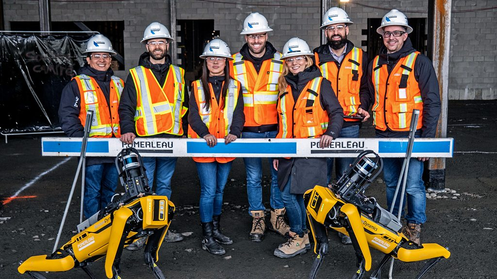 Pomerleau installs robot to track jobsite progress