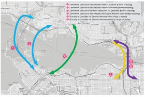 Burrard Inlet transit feasibility study moves to second phase