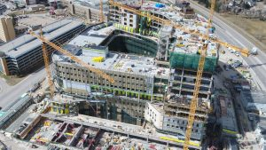 Alberta reaches new heights on cancer centre project