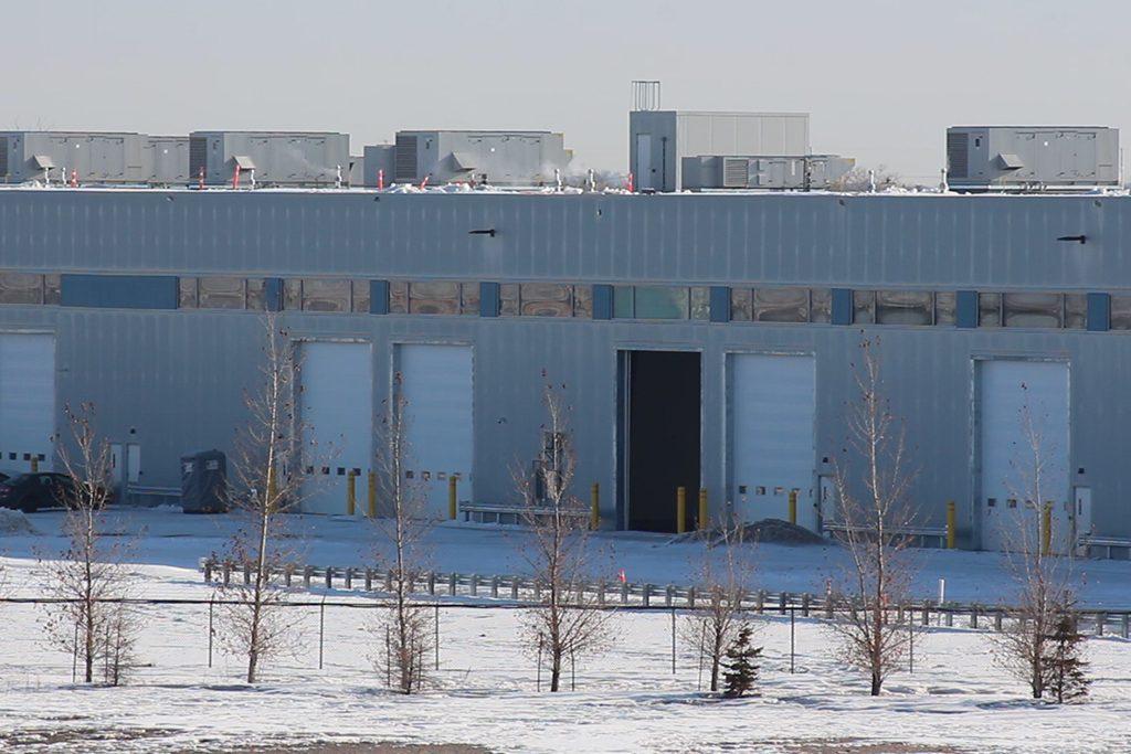 Winnipeg cargo facility nearly complete