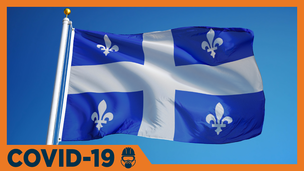 Quebec plans to gradually reopen economy starting May 4th