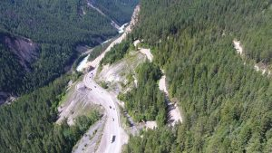 Fieldwork kicks off for Kicking Horse Canyon project