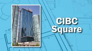 PHOTO: Windows of CIBC
