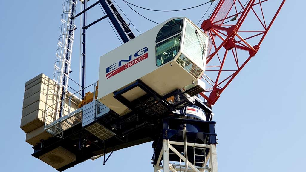 Eng Cranes names Concrane Sales exclusive tower crane distributor for Ontario