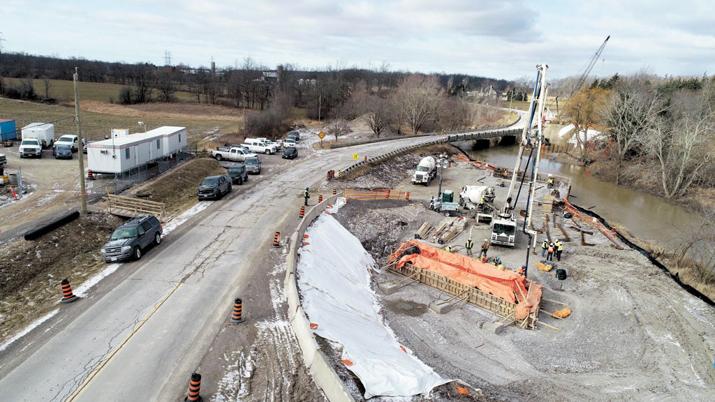 New Reece Bridge in Niagara Region finished ahead of schedule