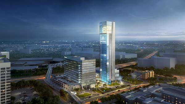 Thyssenkrupp Elevator's new North American headquarters at The Battery Atlanta is scheduled for completion in 2021.