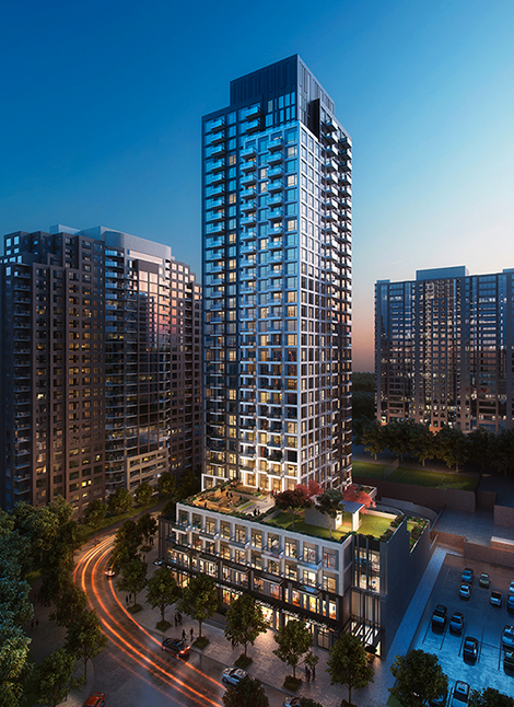 Construction on the 35-storey 185 Enfield Place Project in Mississauga, Ont. is expected to start in the second quarter of this year, Bird reports.