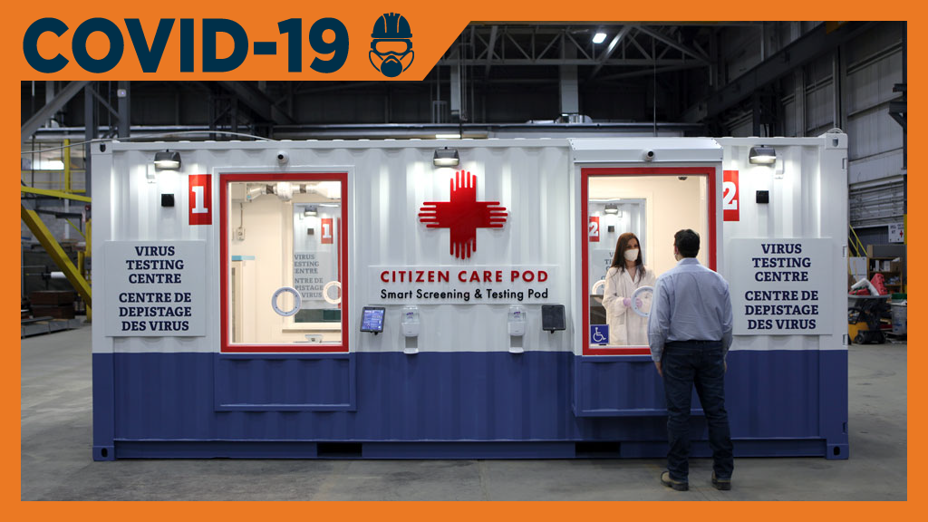 Construction and technology firms partner to launch Citizen Care Pod