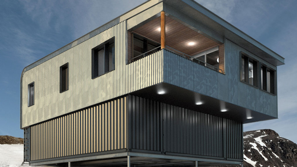 Nunavut man designs shipping container homes to withstand harsh conditions