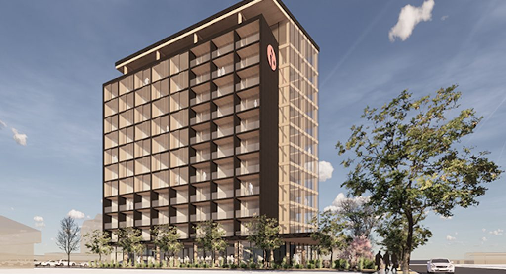 Hotel to become Kelowna's tallest mass timber tower